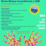 Encuentro Renta Básica Incondicional y 15M